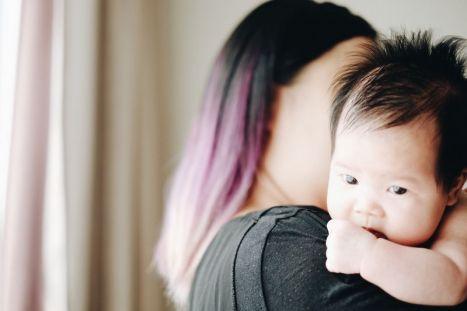 张太太与她的孩子